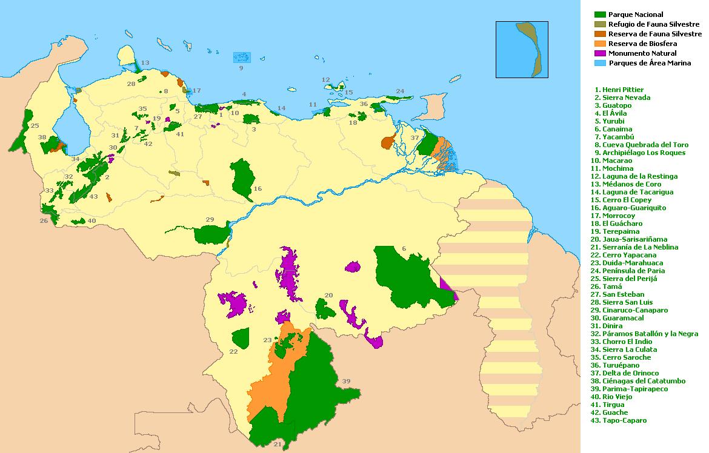 ParquesNaturalesVenezuela