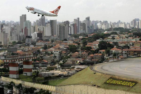 Congohas-Sao Paulo - Mauricio Lima - AFP
