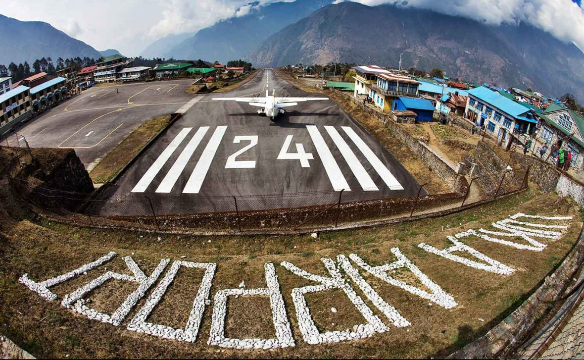 Nepal Lukla Airport - Fuente Aviacion Nepal-WEB