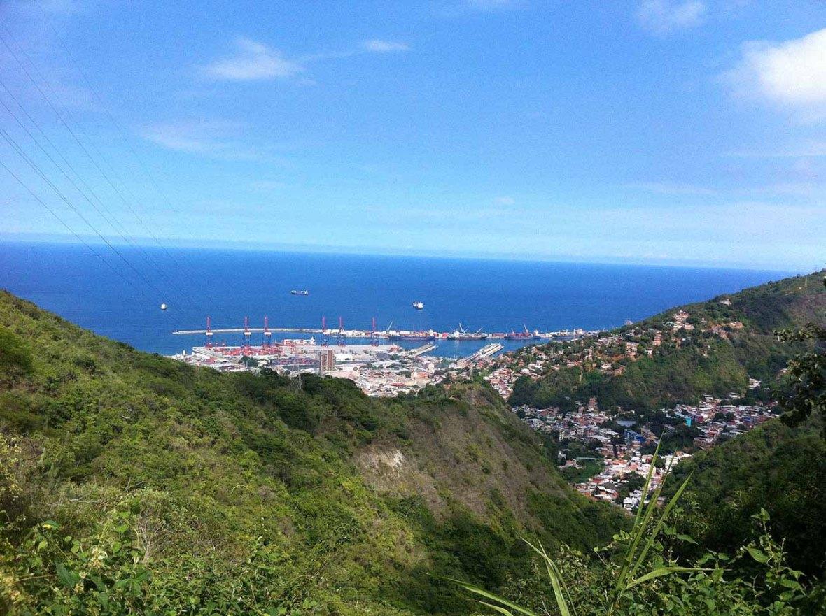 Vista del camino de los Epañoles- MapioB